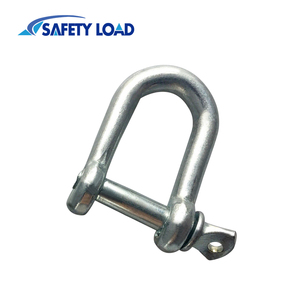 Small size standard galvanized D shackle