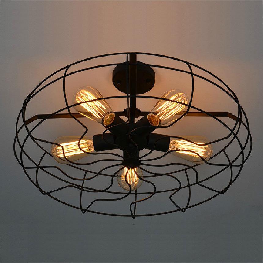 creative pays d 39 am rique vintage plafonniers luminaire industriel edison lampes de plafond. Black Bedroom Furniture Sets. Home Design Ideas
