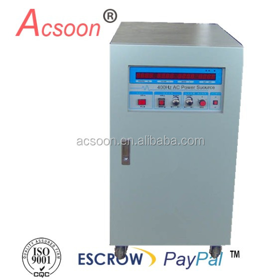 AF400-130010 three phase output 400hz frequency coverter