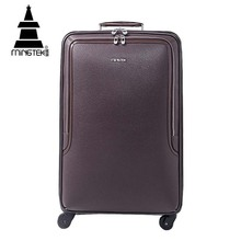 Hot selling colourful trolley luggage bag luggage sets boarding bag