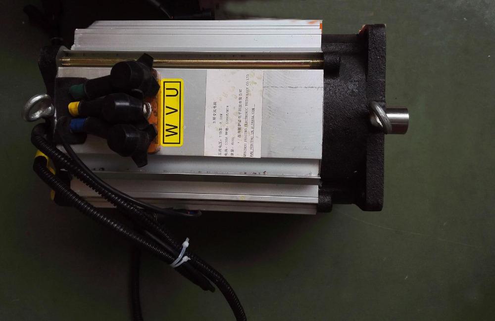 Manufacturer Ac Brushless Motor Electric Car Kit Ac