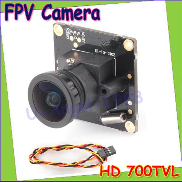 Wholesale 1pcs HD 700TVL Sony CCD PAL or NTSC FPV Camera OSD D-WDR Mini CCTV PCB FPV Tiny Wide Angle Camera 2.1mm Lens Dropship