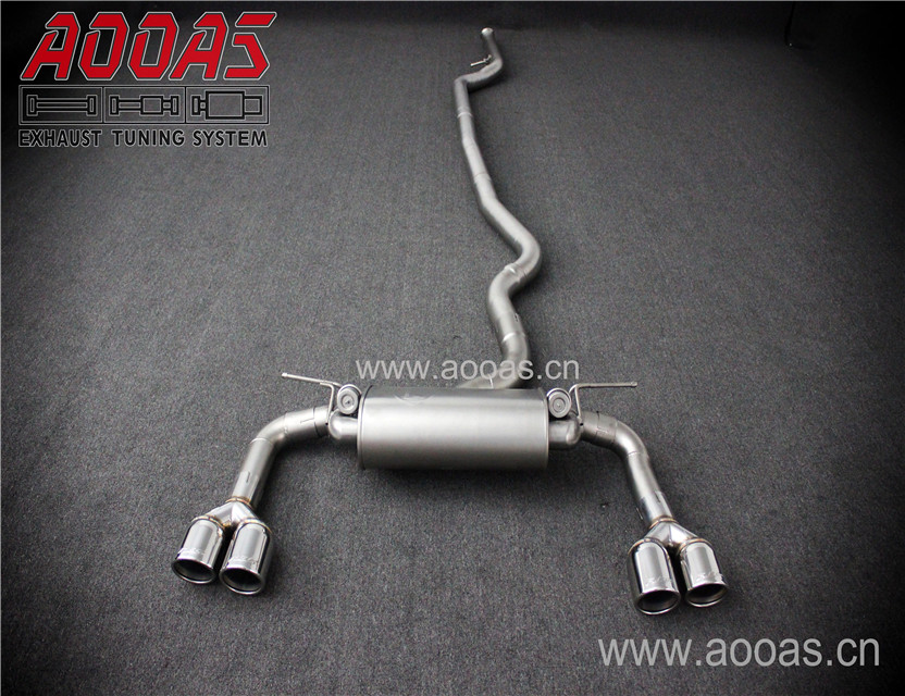 3 Series F34 GT Racing Vehicle Exhaust System 320i 328i 330i N20 Engine