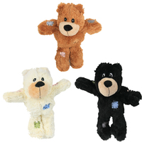 wholesale manufacturer indestructible chew squeaky plush pet dog bear toys