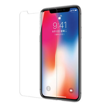 Best selling easy install tool impact shield tempered glass screen protector for iphone X