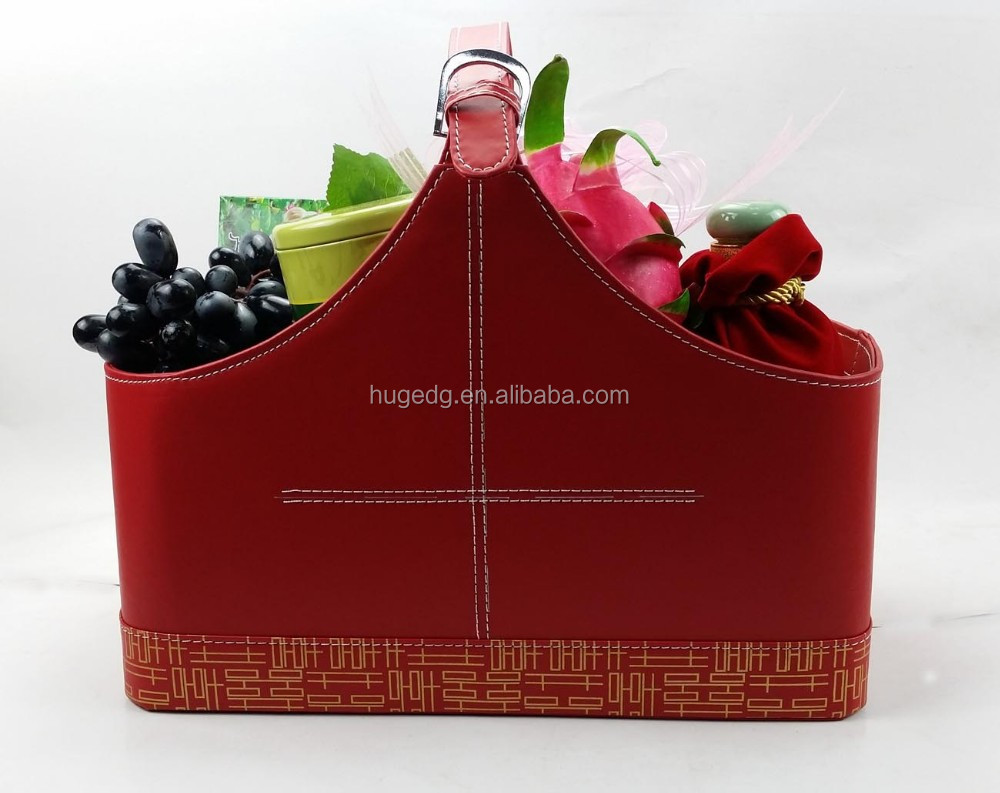 National holiday gift basket family recycled vegetable basket