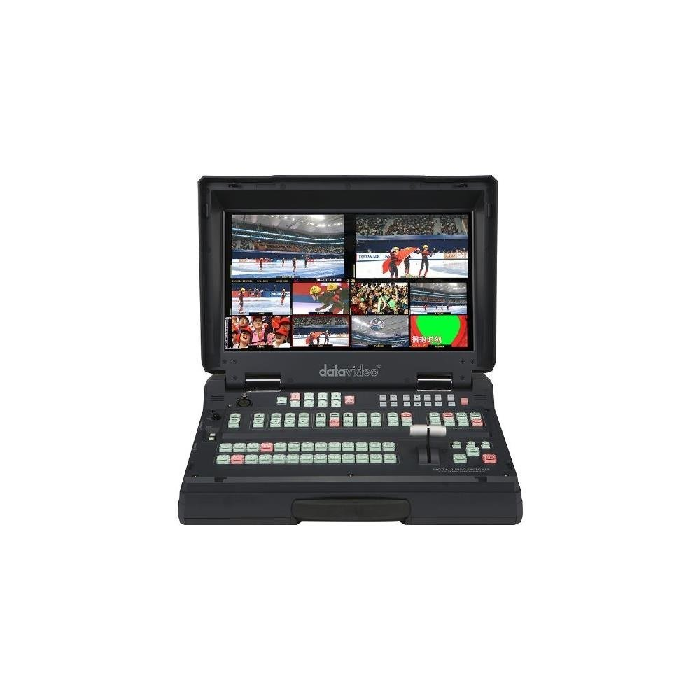 DATAVIDEO New HS-2800-8, Hand Carried HD/SD Mobile Studio, 8 Channel 10-Bit 1920 X 1080I Broadcast-Quality Mobile Switcher, Integrated 17.3 And LCD Monitor 25 Lbs. -B00J3DQCKC