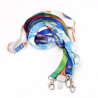 Promotional VOGRACE polyester logo printing lanyard customized ECO-friendly cartoon anime sublimation neck cell phone lanyards