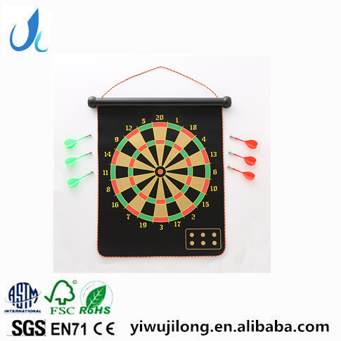 2017 hot sale safe double-sided Magnetic dart board for children toys