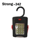 Auto Lighting System 20SMD+3led bright car repair work torch with strong magnet