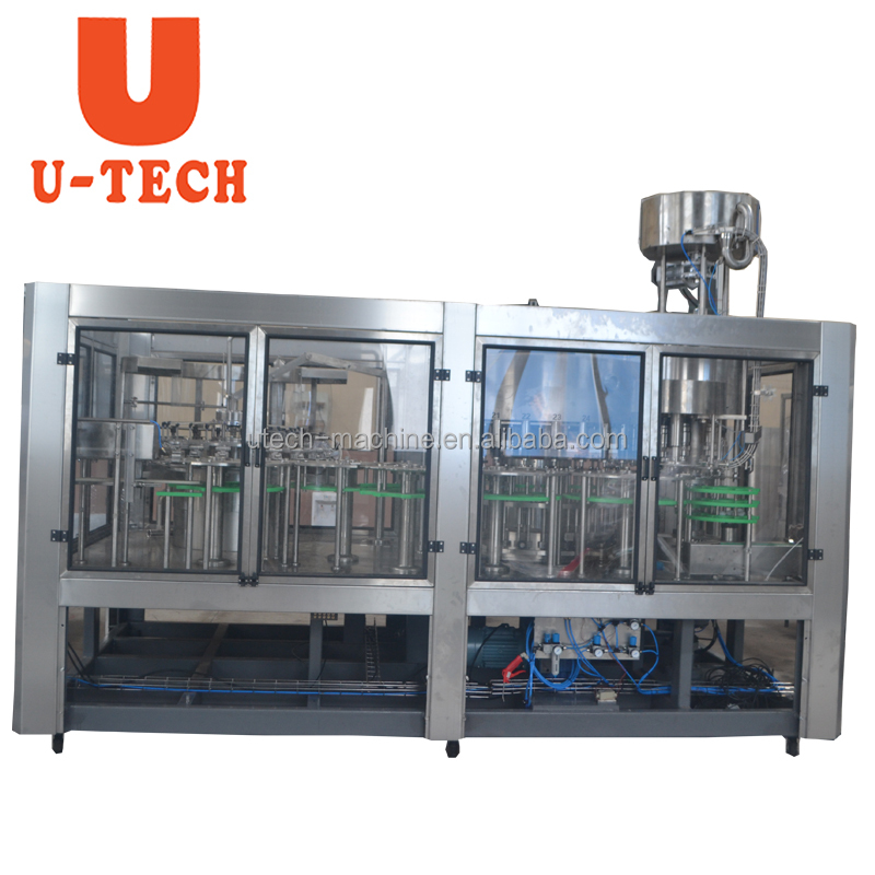 Automatic Plastic Bottle Fruit Juice Filling Machine Project