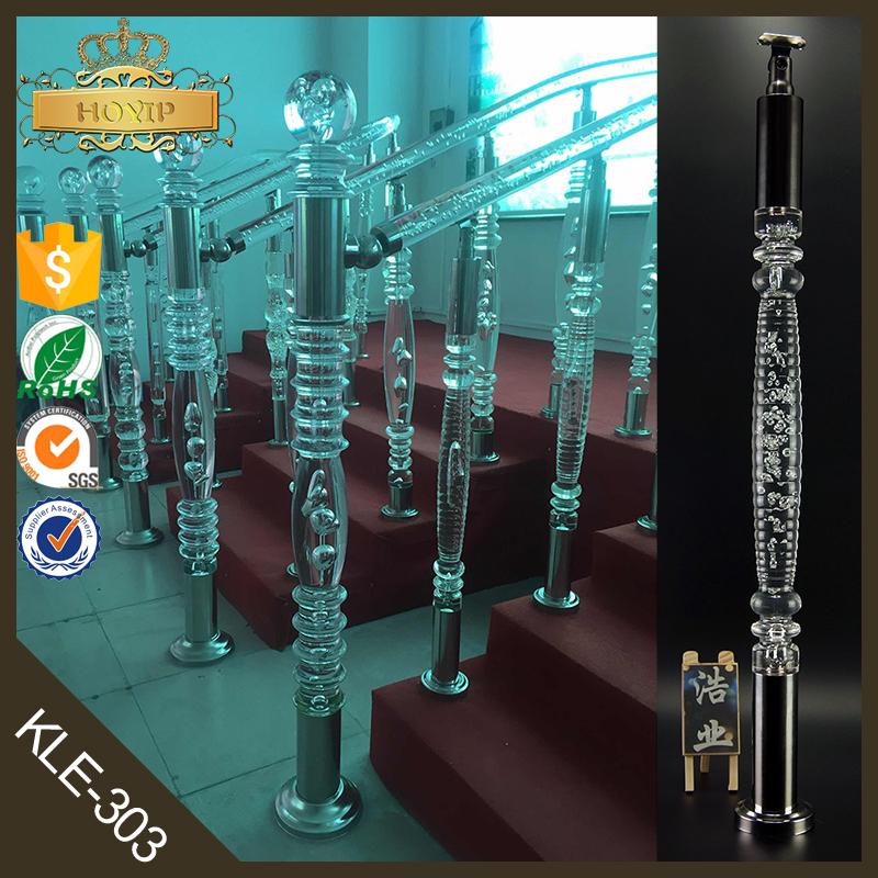 moldeo por inyeccin de acrlico barandilla para escaleras de acero inoxidable cristal