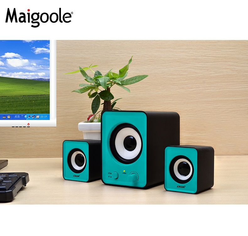 Popular multimedia speaker system 2.1 mini bluetooth speaker think box