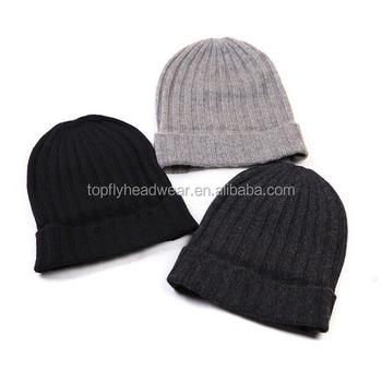 custom wholesale plain beanie knit ski cap hat warm winter running blank  wool beanie hats c076c48e0aa