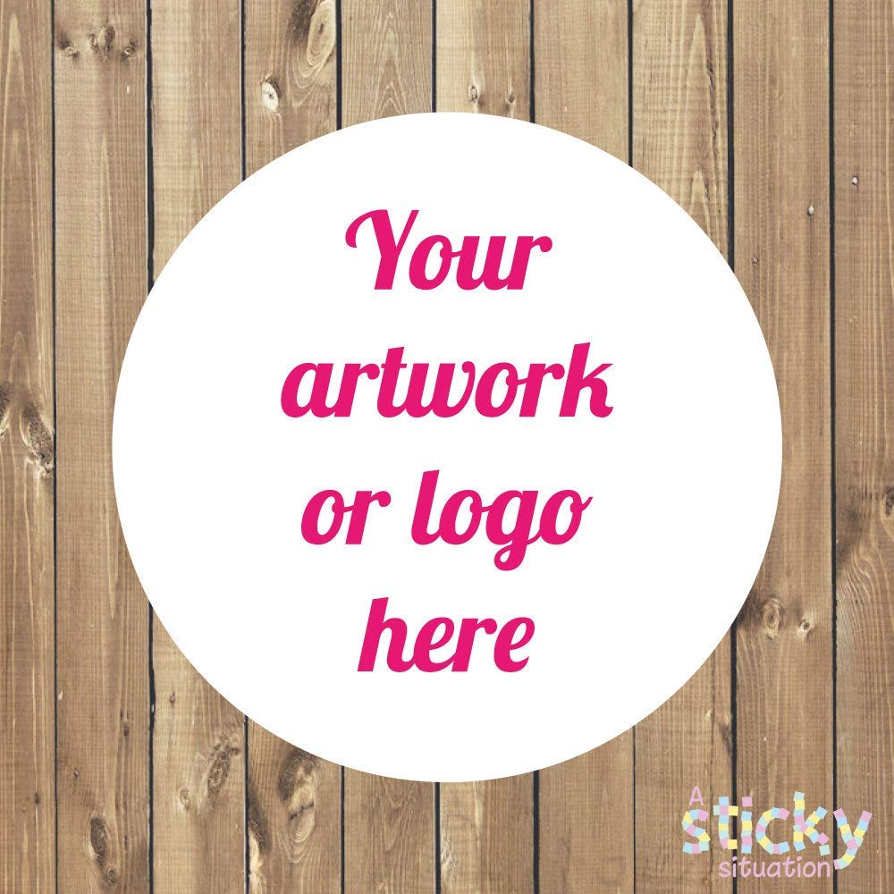 Buy personalized stickers logo stickers custom stickers bespoke stickers custom labels business stickers custom design stickers glossy in cheap price on