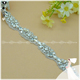 wholesale glass stone crystal rhinestone trimmings flower design bridal belt
