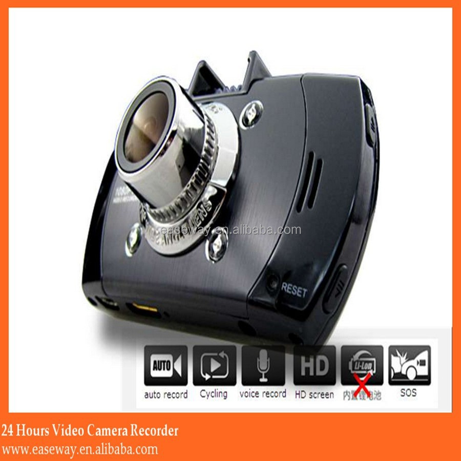 G1W car dvr radar detector , driver recorder hd car camera b lack box
