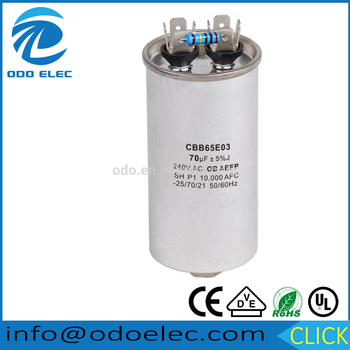High Quality Long Duration Time Ac Capacitor 450v 35uf For Factory Use
