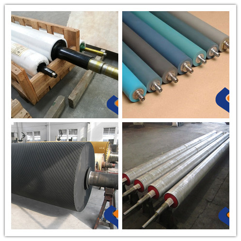 high precision printing machine rubber roller