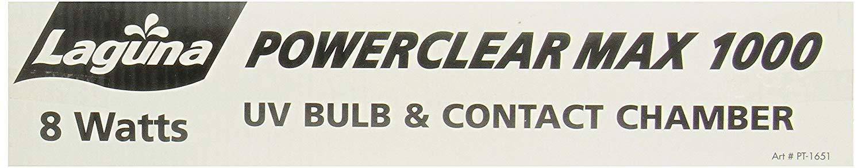 Laguna Bulb with Contact Chamber for PowerClear Max 1000 UV Sterilizer/Clarifier, 8-Watts