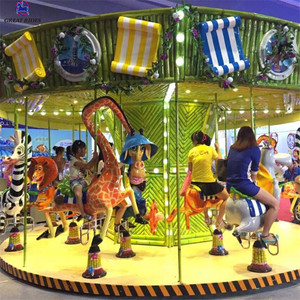 Kids amusement park rides luxury carousel for sale