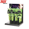 store counter metal hair brush display stand,hair accessories display stand