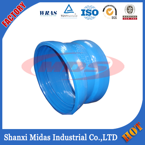 ISO2531, EN545, EN598, BS4772 Ductile Cast Iron Pipe Fitting Collar for PVC pipe