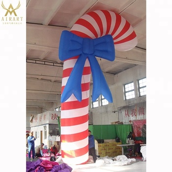 Giant Candy Cane Model Inflatable Candy Canes Helium Balloon For Christmas Decorations Buy Big Inflatable Sweet Candy Balloon For