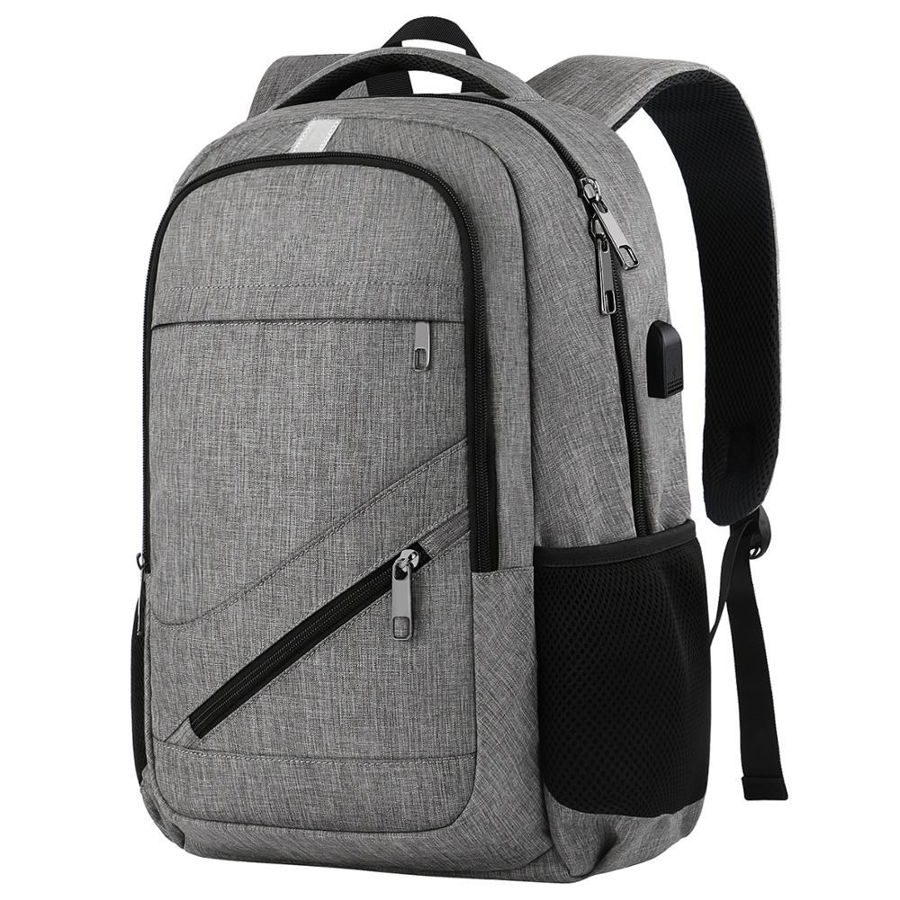 Matein hot venda por atacado anti-roubo de laptop mochila de viagem com carregador USB personalizado à prova d' água inteligente sacos de escola mochila