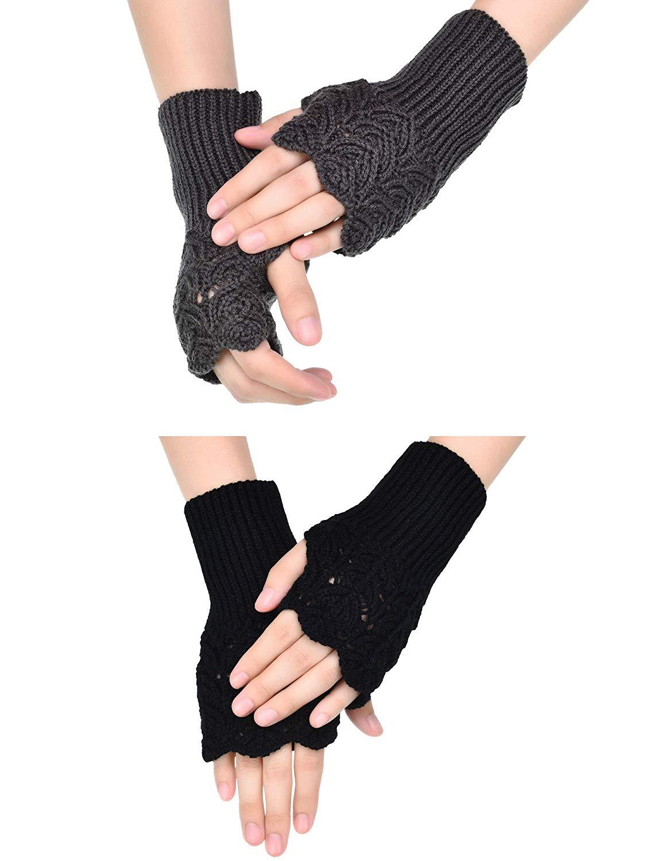 Cheap Knitted Fingerless Gloves Pattern, find Knitted Fingerless ...