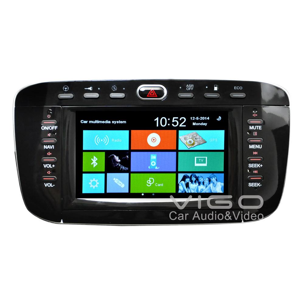 Car Stereo GPS Navigation For Fiat Punto Linea 2012+ Radio