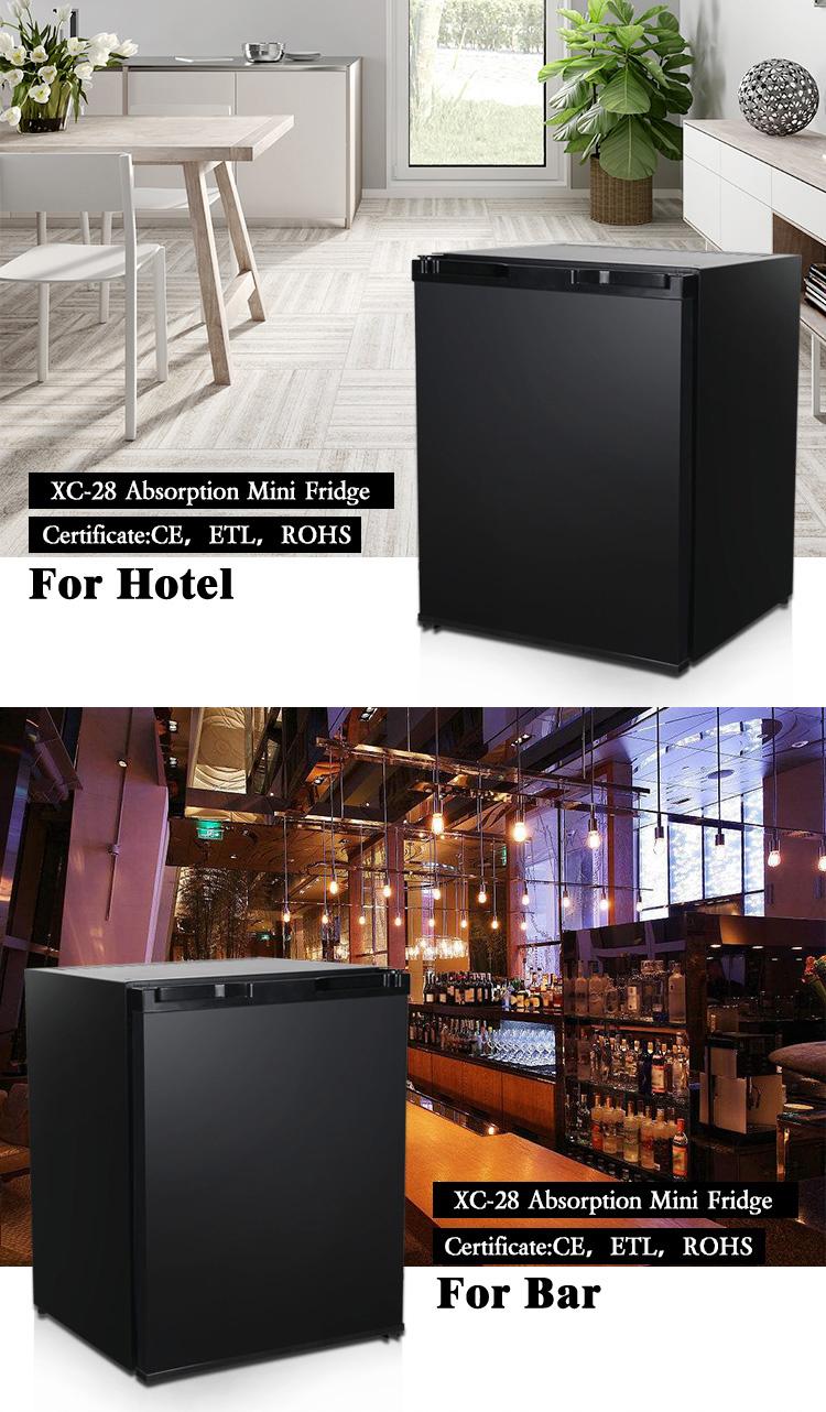 XC-28 30l 28l teller top mini bar hotel koud drankje absorptie koelkast