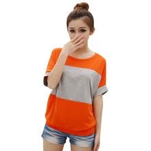 Moderní volné tričko v různých barvách z Aliexpress