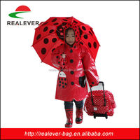 ladybird set of umbrellas rain boot and raincoat