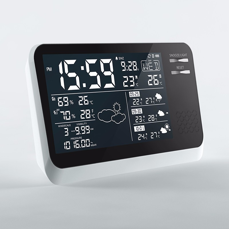 Digital mobile Weather Station with Hygrometer Thermometer