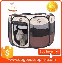 Factory Price off Fabric Puppy dog cat play pen foldable pet playpen