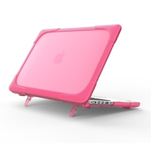 Shockproof Heavy Duty Protective Laptop Cover Case with Kickstand For MacBook Retina 13