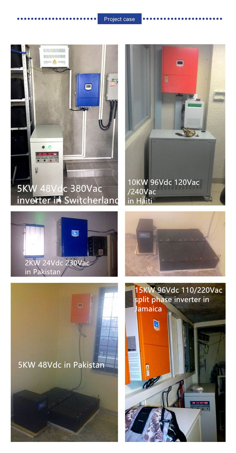 Off grid Three phase inverter 200KVA