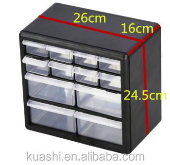 Wholesale Durable Clear Plastic Drawers Spare Parts Box