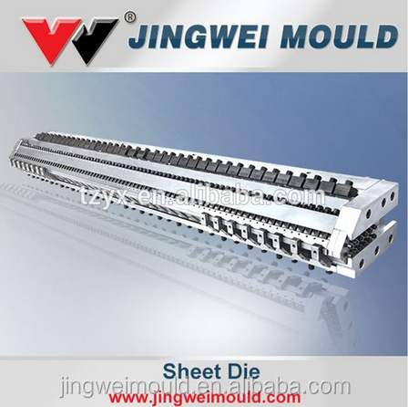 sheet extrusion die mould for plastic