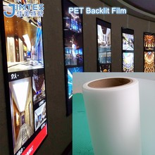 waterproof matte pet backlit film