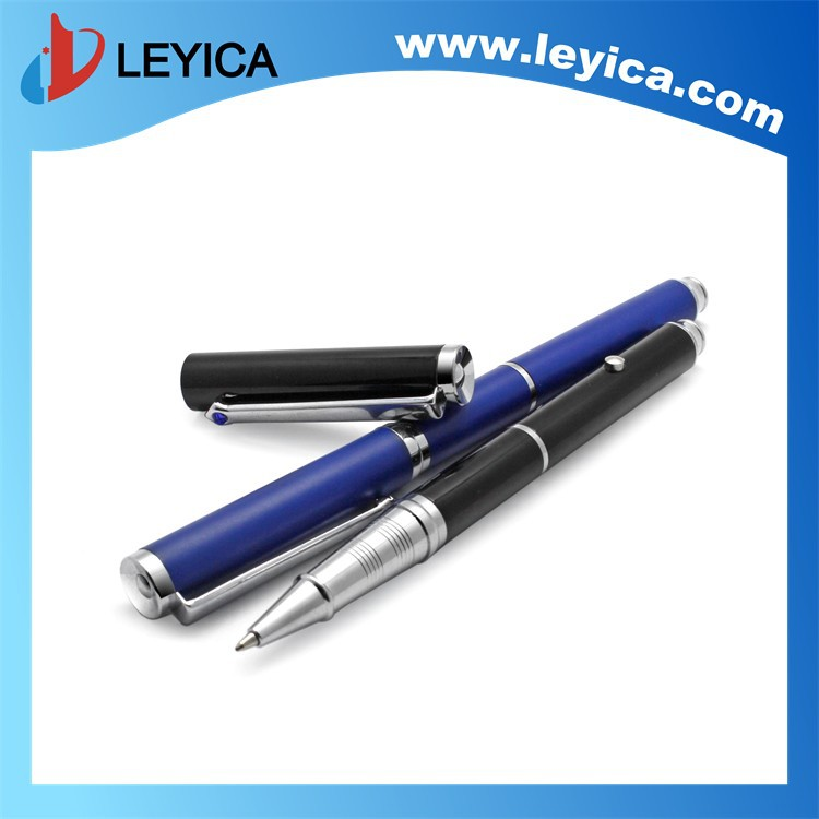 Heavy metal ball point pen with Laser and diamond LY-199