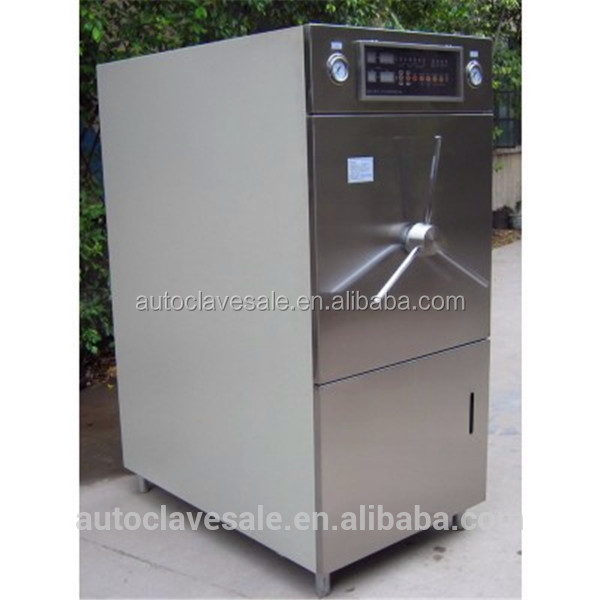 Double Door Autoclave Horizontal Steam Sterilizer HT-HZA Easily and Safely Operation Touch Screen NASH vacu- Bluestone Autoclave