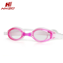 Hot sale prescription eyewear silicone custom logo adult swimming goggles