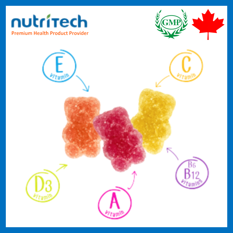 Pectin Gummy Candy Multi- Vitamin Gummy Candy for kids