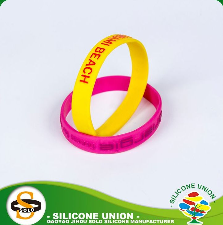One directions cheap custom print silicone bracelets