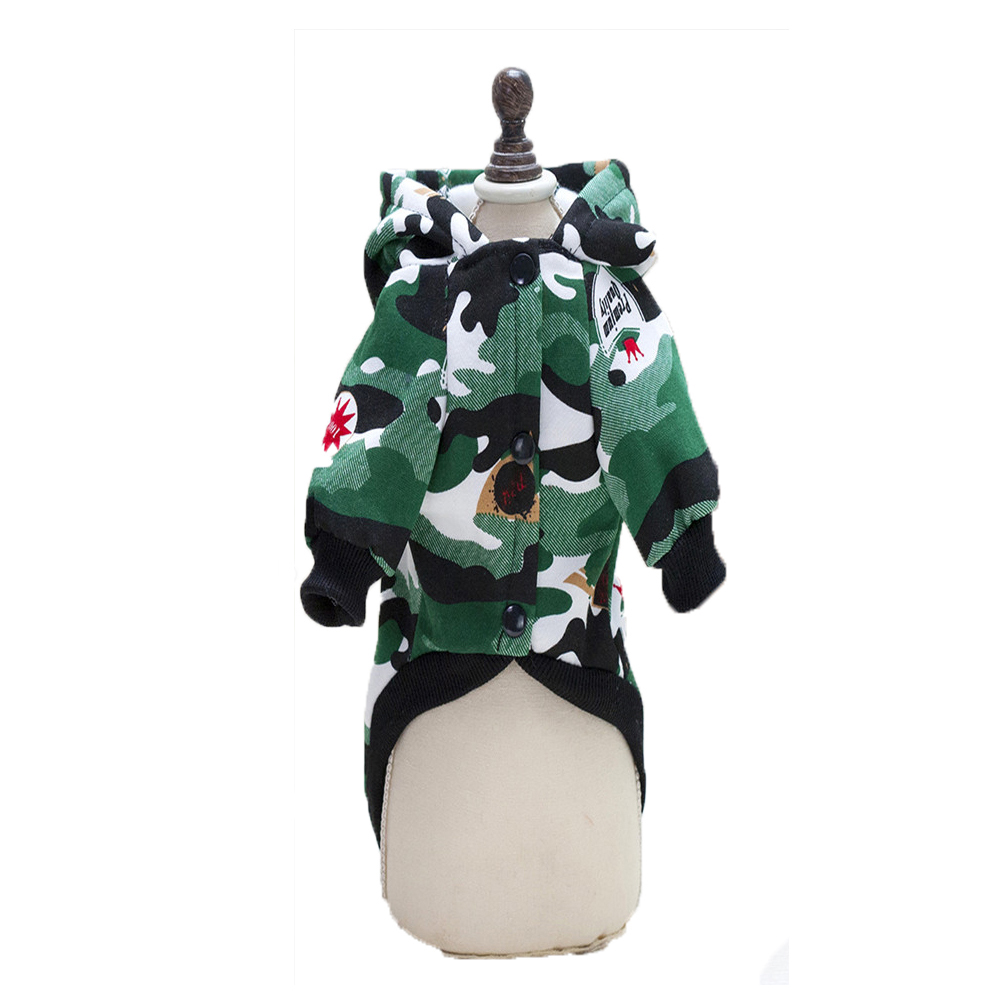 Wholesale pet clothing winter teddy poodle small dog clothes luxury dog jacket dog coat