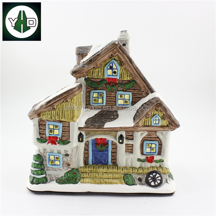 ceramic christmas village ceramic christmas village suppliers and manufacturers at alibabacom - Ceramic Christmas Houses