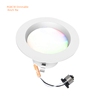4inch 9w led downlight rgbcw dimmable app control in bluetooth mesh, wifi 810lm