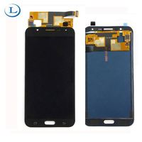 Factory oem lcd screen for Samsung J7, mobile phone lcd cell phone accessory for Samsung J7